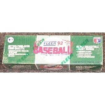 1992 Fleer Baseball Factory Set