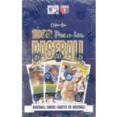 1992 O-Pee-Chee Premier Baseball Wax Box (Reed Buy)