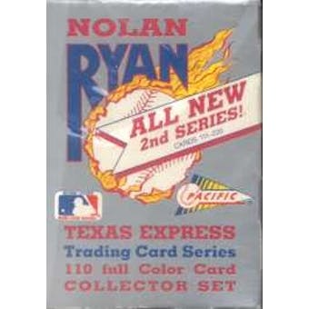 1992 Pacific Nolan Ryan 2nd Series Baseball Hobby Box