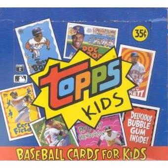 1992 Topps Kids Baseball Hobby Box