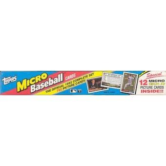 1992 Topps Micro Baseball Factory Set