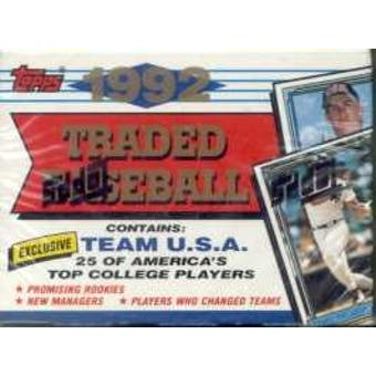 1992 Topps Traded & Rookies Baseball Factory Set