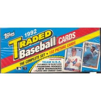 1992 Topps Traded & Rookies Baseball Retail Set