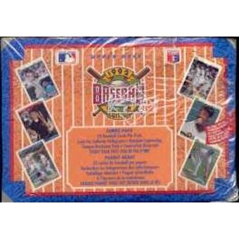 1992 Upper Deck Low # Baseball Jumbo Box