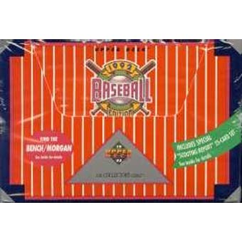 1992 Upper Deck Hi # Baseball Jumbo Box