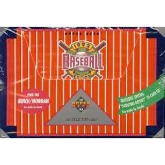 1992 Upper Deck Hi # Baseball Jumbo Box