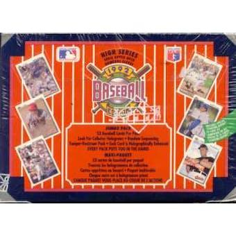 1992 Upper Deck Hi # French Baseball Jumbo Box