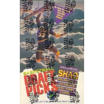 1992/93 Classic Draft Picks And Prospects Basketball Box