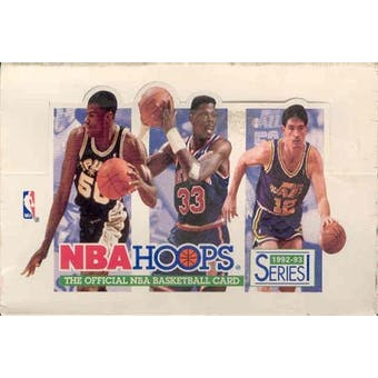 1992/93 Hoops Series 1 Basketball Hobby Box