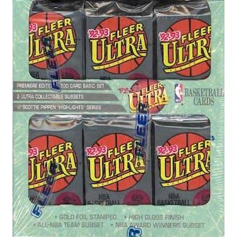 1992/93 Fleer Ultra Series 1 Basketball Jumbo Box