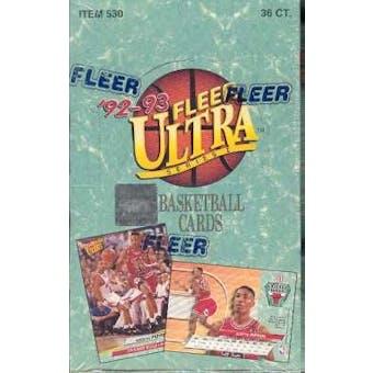 1992/93 Fleer Ultra Series 1 Basketball Hobby Box