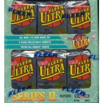 1992/93 Fleer Ultra Series 2 Basketball Jumbo Box