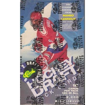1992/93 Classic Best Draft Picks And Prospects Hockey Hobby Box