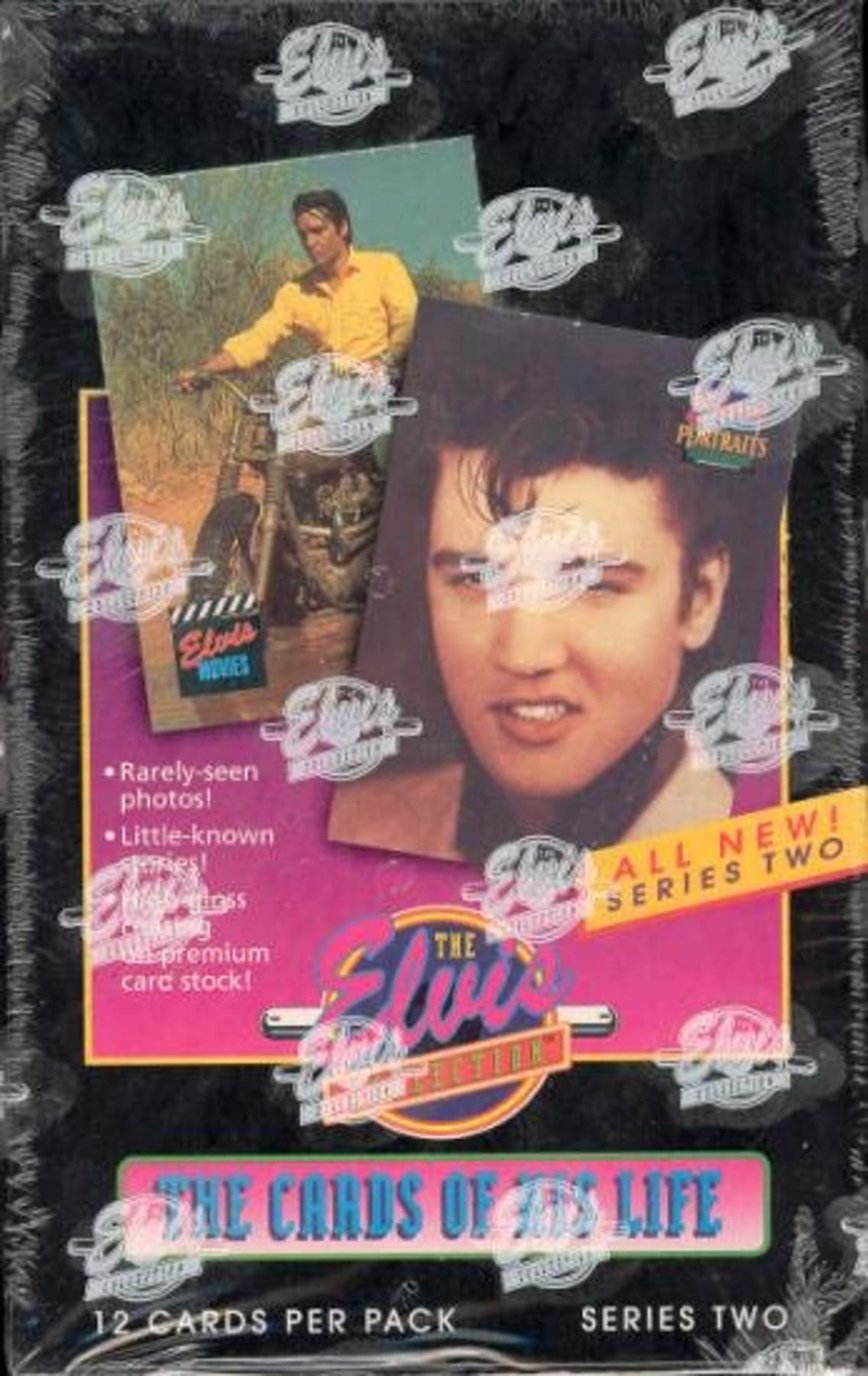 The Elvis Collection The Cards Of His Life Series 2 Box 1992 River