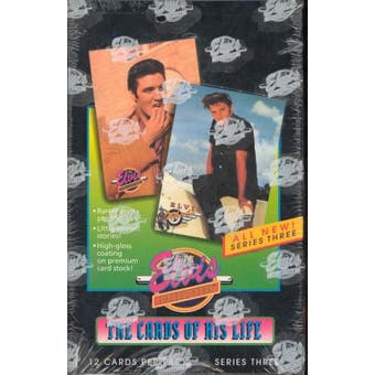 The Elvis Collection the Cards of His Life Series 3 Box (1992 River Group)