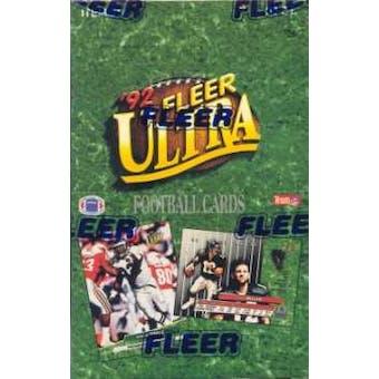 1992 Fleer Ultra Football Hobby Box