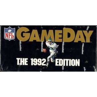 1992 Fleer Game Day Football Hobby Box