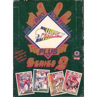 1992 Pacific Plus Series 2 Football Hobby Box