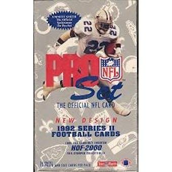 1992 Pro Set Series 2 Football Hobby Box