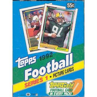 1992 Topps Series 1 Football Hobby Box