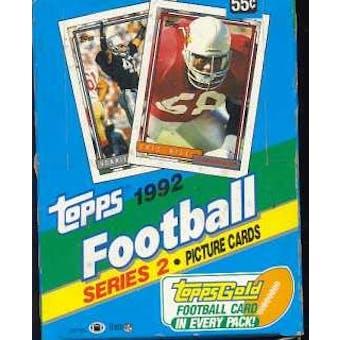 1992 Topps Series 2 Football Hobby Box