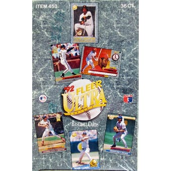 1992 Fleer Ultra Series 1 Baseball Hobby Box (Reed Buy)