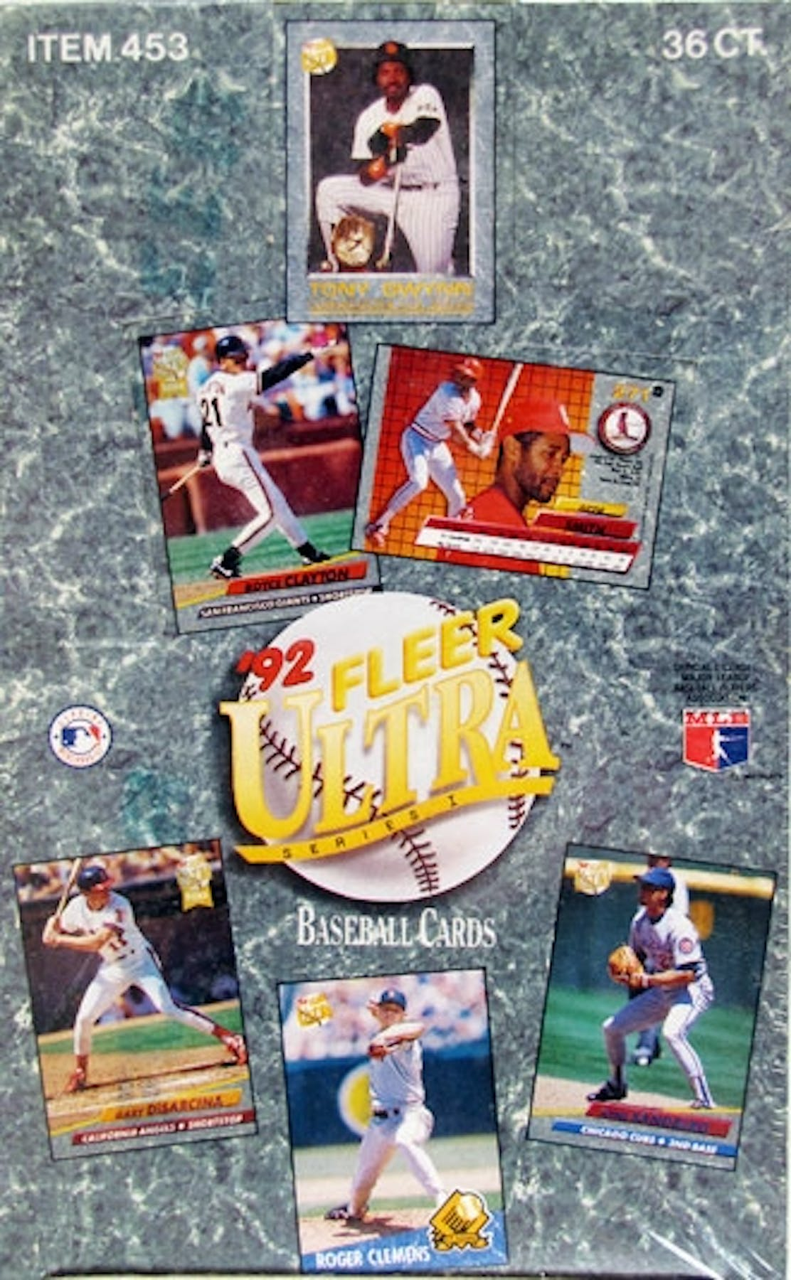 1992 Fleer Ultra Series 1 Baseball Hobby Box Da Card World