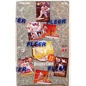 1992 Fleer Ultra Series 2 Baseball Hobby Box (Reed Buy)