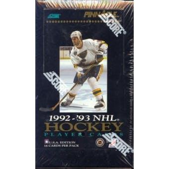 1992/93 Pinnacle U.S. Hockey Hobby Box