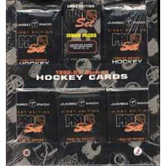 1992/93 Pro Set Series 1 Hockey Jumbo Box