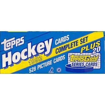 1992/93 Topps Hockey Factory Set