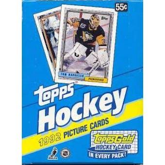 1992/93 Topps Hockey Wax Box