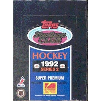 1992/93 Topps Stadium Club Series 2 Hockey Wax Box