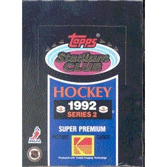 1992/93 Topps Stadium Club Series 2 Hockey Wax Box