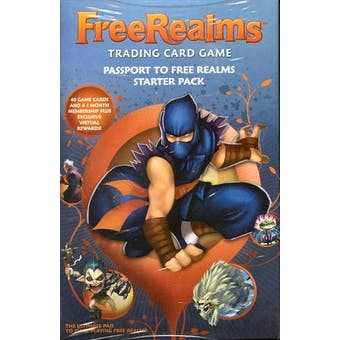 Topps Free Realms Starter Deck