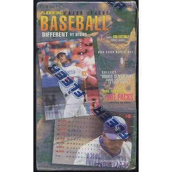 1995 Fleer Series 1 Baseball Retail Loader Box