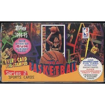 1994/95 Topps Series 2 Basketball Jumbo Box