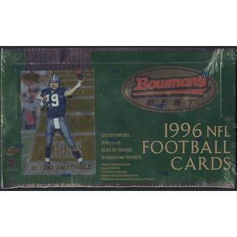 1996 Bowman's Best Football Hobby Box
