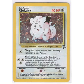 Pokemon Base Set 2 Single Clefairy 6/130