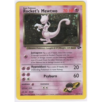 Pokemon Gym Challenge Single Rocket's Mewtwo 14/132