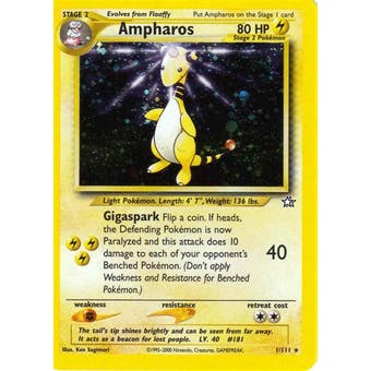 Pokemon Neo Genesis Single Ampharos 1/111