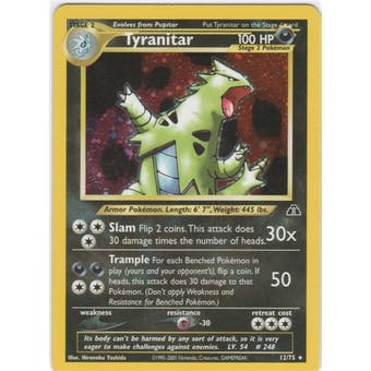 Pokemon Neo Discovery Single Tyranitar 12/75 - NEAR MINT (NM)