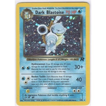 Pokemon Team Rocket Single Dark Blastoise 3/82 - NEAR MINT (NM)