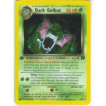 Pokemon Team Rocket 1st Edition Single Dark Golbat 7/82 - NEAR MINT (NM)