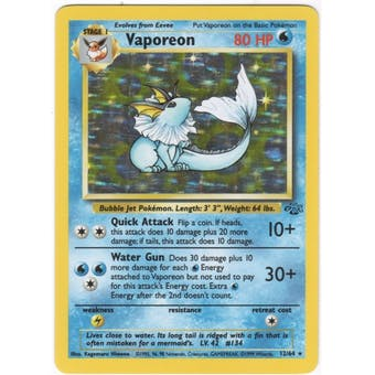 Pokemon Jungle Single Vaporeon 12/64 - NEAR MINT (NM)