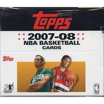 2007/08 Topps Basketball 24-Pack Box