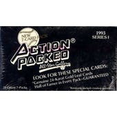 1993 Action Packed All-Star Gallery Series 1 Baseball Wax Box (Reed Buy)