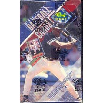 1993 Classic Best Baseball Hobby Box
