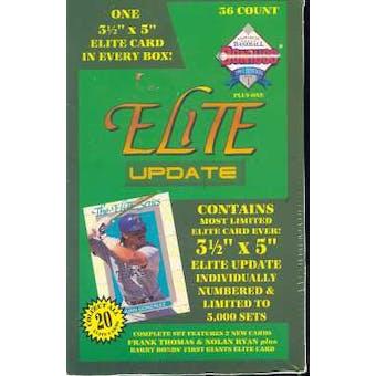 1993 Donruss Elite Update Baseball Hobby Box
