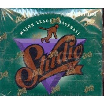 1993 Donruss Studio Baseball Jumbo Box